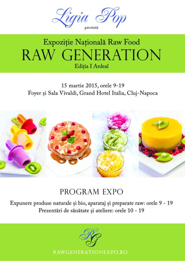 Afis - Raw Generation Expo - Editia I Ardeal